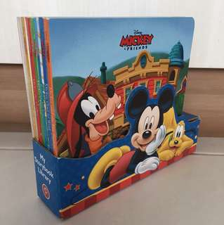Mickey & Friends story books (5 books)
