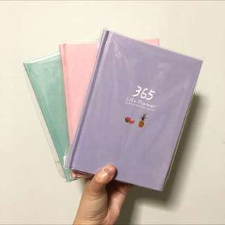(Ready Stock) 365 Life Daily Planner Journal