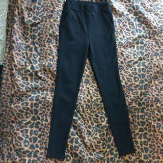 Forever 21 Black Jegging