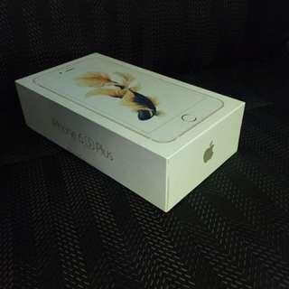 Gold iPhone 6s Plus 16GB