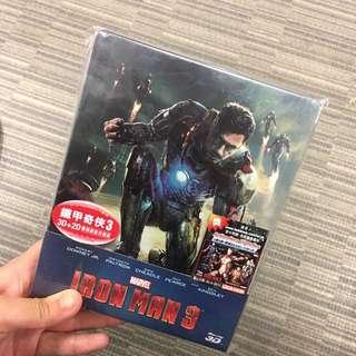 iron man 3 blu-ray 3D version