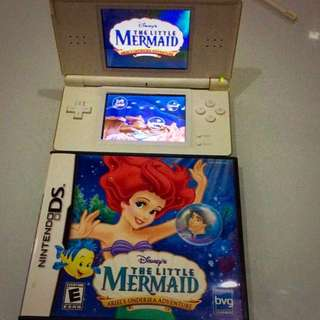 Authentic Nintendo DS Game The Little Mermaid Ariel's Undersea Adventure