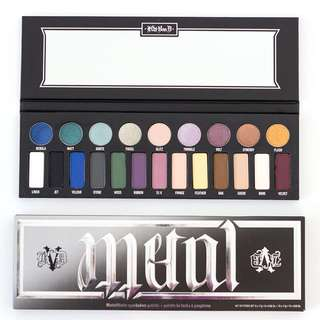 Kat Von D Metal Matte Eyeshadow Palette #1212YES