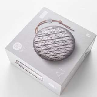 Bang & Olufsen Beoplay A1 Portable Speaker IN SILVER B&O ( Ajay Tjays Dre Beats Sony samsung iPhone )