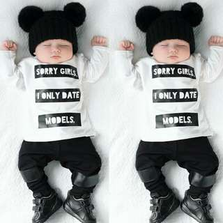 #1212YES 2pcs Suit For Baby Boy