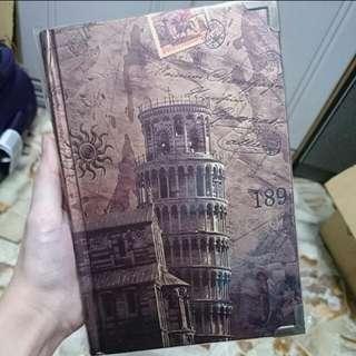 Vintage Line Notebook
