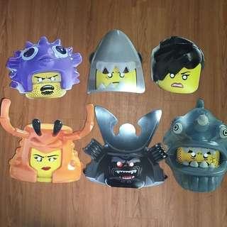 Official Lego Ninjago Movie Premium - Character Mask , Eye Mask and Keychain #1212YES