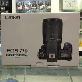Canon 77D kit 18-135 usm