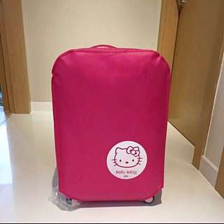 "✔️Protect your luggage from scratches NOW ✔️❗️Brand New Hello Kitty Non Woven material thick luggage protector cover❗️Avail in 3 sizes 20"" & 22"" @ $10, 24"" @ $11, 28"" @ $12 👌🏻"