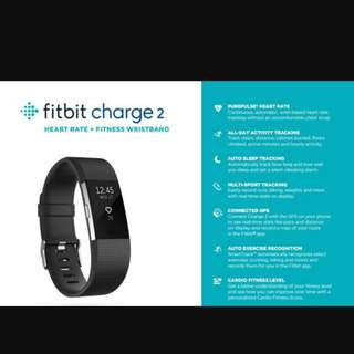 Fitbit Charge 2 - Black Large BNIB
