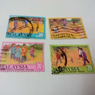 Malaysia Stamps #A7