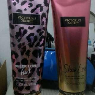 Victoria secret lotion and perfume