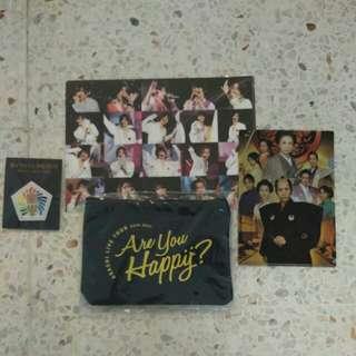 Johnny Artist - Concerts Items (Set K )