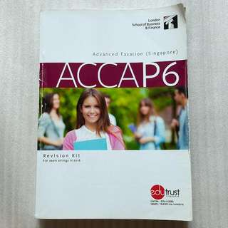 ACCA P6 Revision Kit