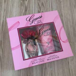 GUESS GIRL PERFUME- Eau De Toilette & Body Cream