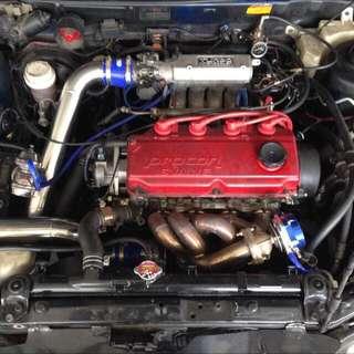Wira 1.8 sohc turbo manual