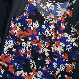 Monki Printed Top