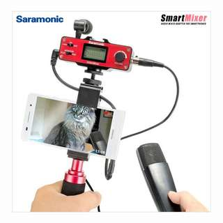 Saramonic SmartMixer - Audio Mixer Kit for Smartphone