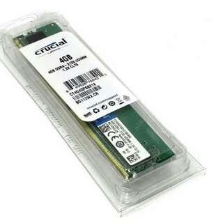 4GB DDR4 CRUCIAL