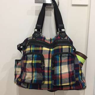 Luggage Bag Plaid