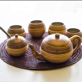 手拉坯茶具