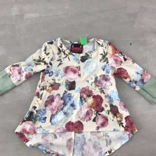 kids fishtail top ( 1-2 y/o)