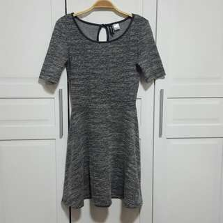 H&M Patterned B&W Dress