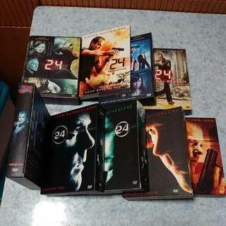 絕版美國電視劇[24]全套八季DVD