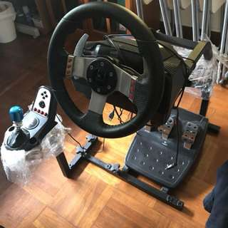 Logitech G27 driving wheel in extremely good condition