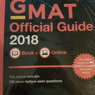 Official GMAT 2018