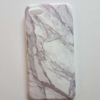 Iphone 7/8 手機雲石殼phone case全包邊軟殼