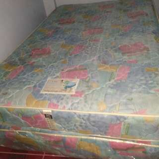 Double-spring bed