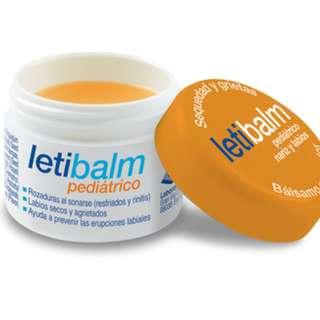 Letibalm小兒科醫師推薦寶寶專用鼻唇膏