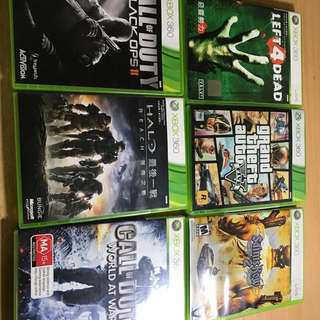 UPDATED!!! Xbox 360 Games