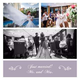 Actual Day Wedding Photography Service Singapore