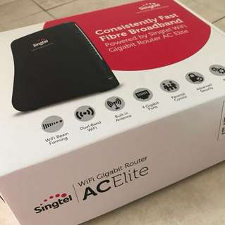 BNIB Singtel WiFi Gigabit Router ACElite