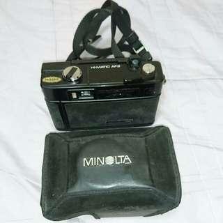 MINOLTA底片相機