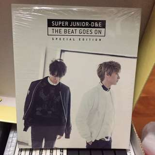 SJ D&E一輯特別版淨專 THE BEAT GOES ON SUPER JUNIOR 東海 銀赫 赫海