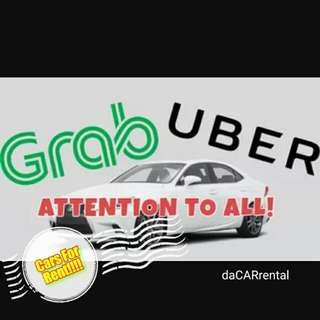 Cars For Rent ! Uber Grab personal