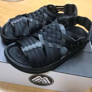Malibu 涼鞋 黑 US9 基本