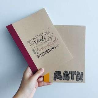 Customizable Muji Notebooks ‼️