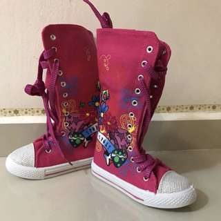 BN canvas shoe / boots