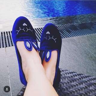 Blue Bunny Shoes