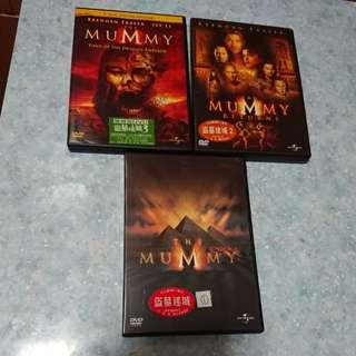 盜墓迷城1—3集DVD