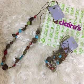 Claire's Long Beaded Necklace Buy 1 Take 1