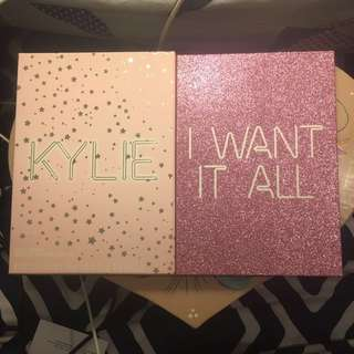 Kylie birthday book- I want it all