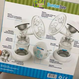 BumbleBee Double Breastpump
