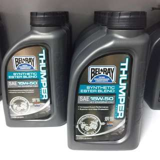 Bel Ray Thumper Racing Synthetic Ester Blend 15W50