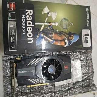 AMD RADEON HD 6850 1GB DDR5
