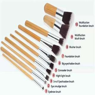 Bamboo Brush Makeup Murah